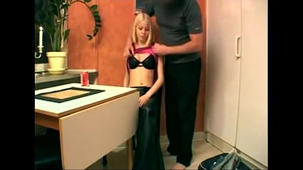 Slim swedish teens first casting caught on tape…