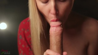 Gorgeous Sensual Blowjob With Oral Creampie – Cherry Grace