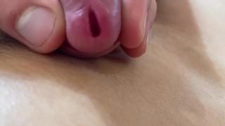 Close up urethral peehole