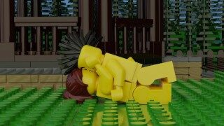 Lego Porn with Sound – Anal, Blowjob, Pussy Licking, Vaginal and Handjob